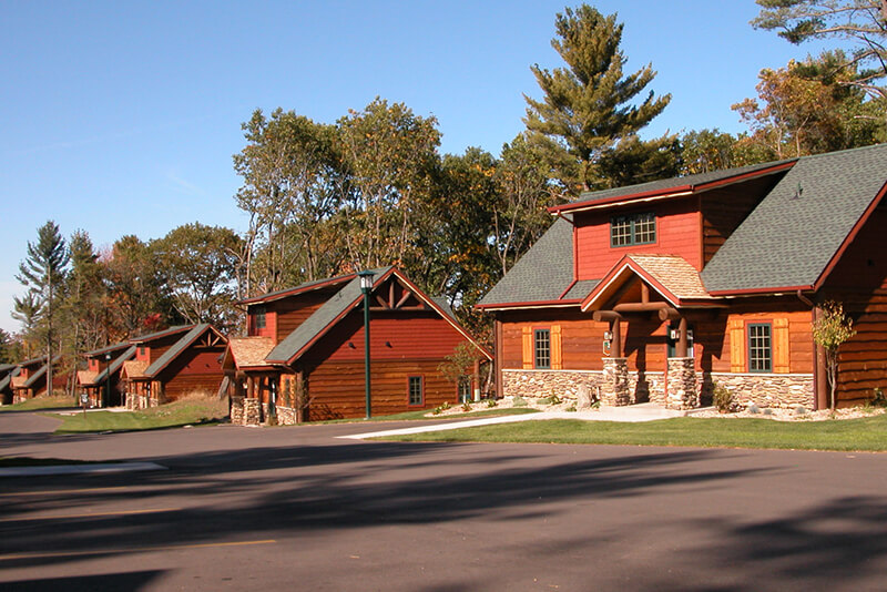 3 Bedroom Golf Course Cabin Wilderness Resort Wisconsin