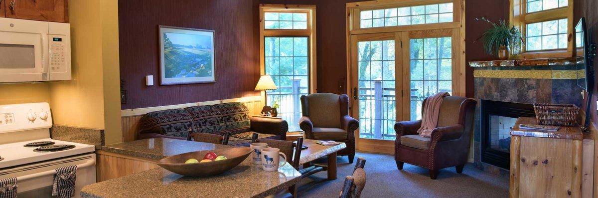 3 Bedroom Golf Course Cabin Wilderness Resort Wisconsin