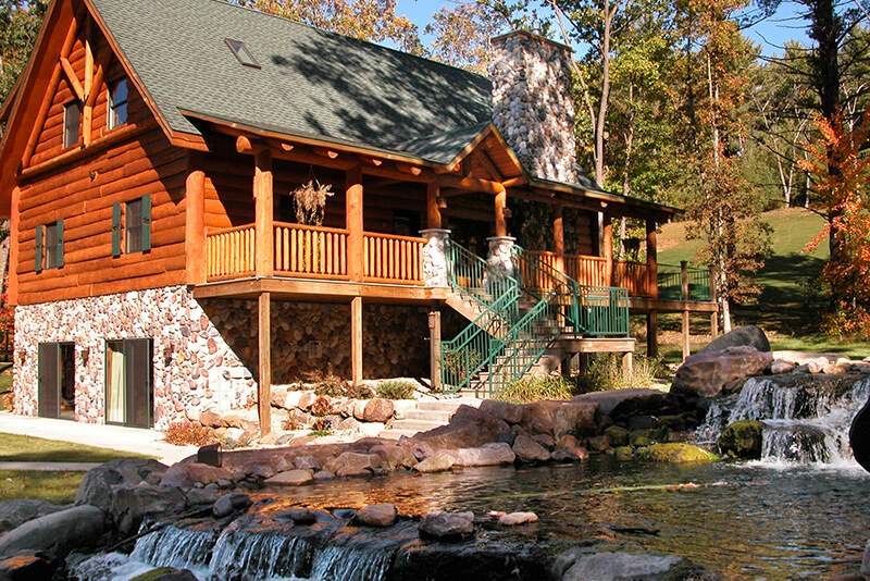 Strange 5 Bedroom Entertainment Cabin Wilderness Resort Wisconsin Interior Design Ideas Clesiryabchikinfo