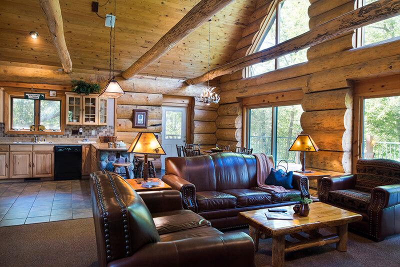 5 Bedroom Retreat Cabin Wilderness Resort Wisconsin Dells