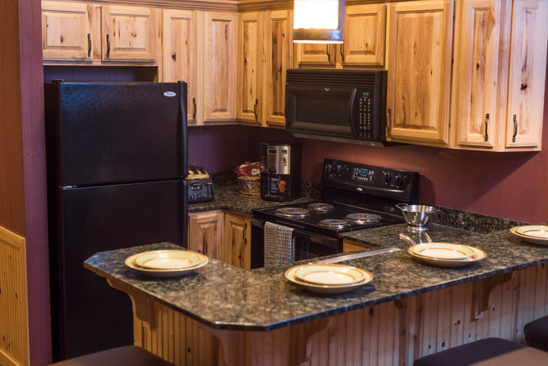 2 Bedroom Deluxe Glacier Canyon Lodge Wisconsin Dells