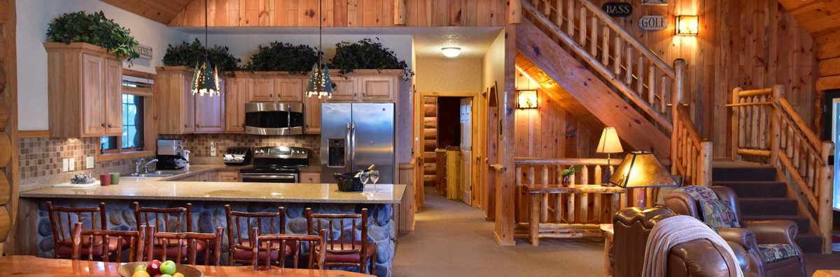 Superb 5 Bedroom Entertainment Cabin Wilderness Resort Wisconsin Interior Design Ideas Clesiryabchikinfo