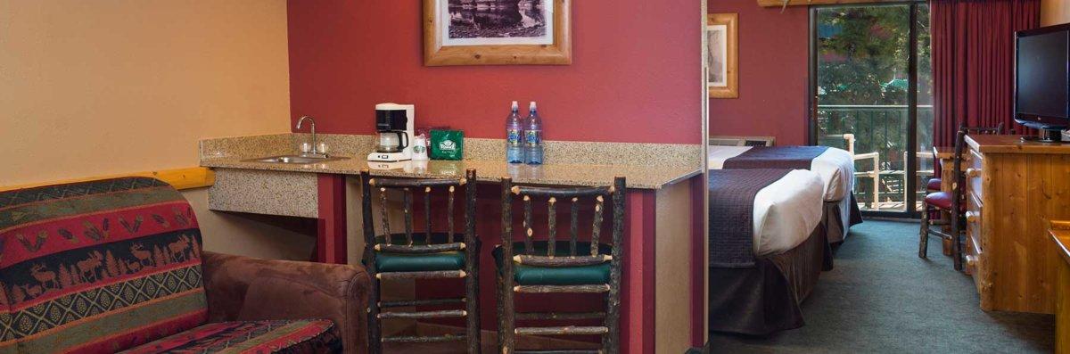 Double Suite Wet Bar Wilderness Resort Wisconsin Dells