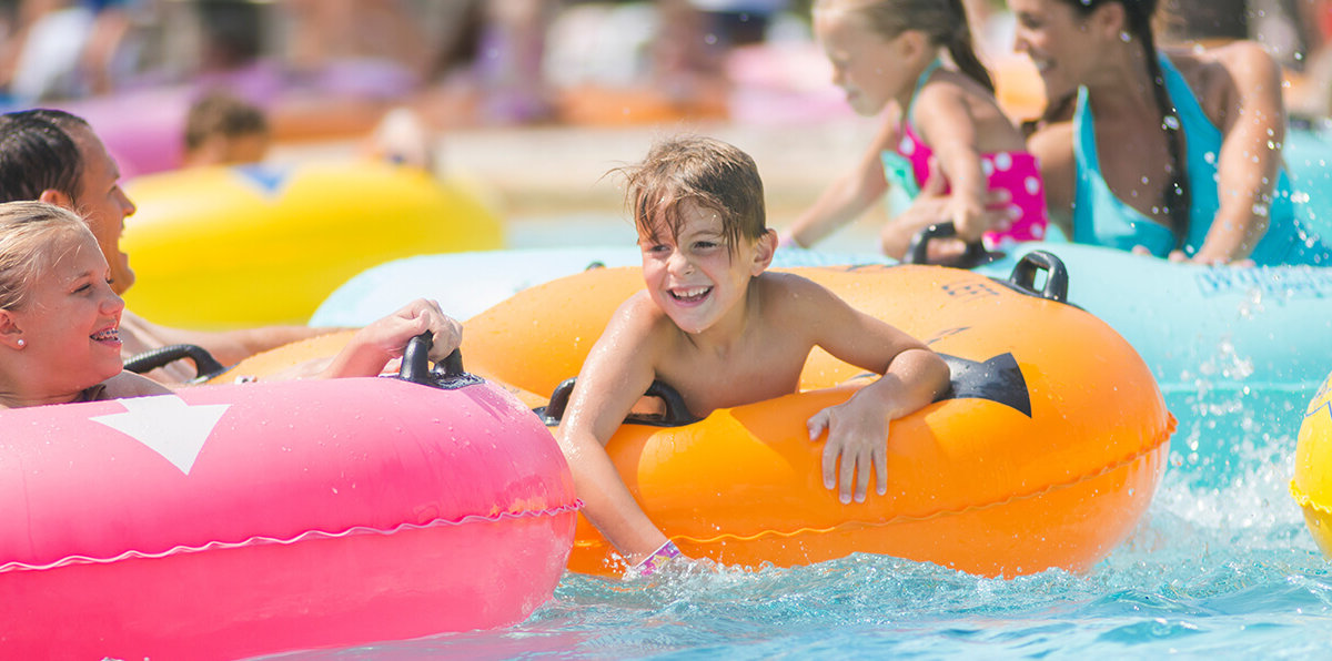 Lost World Outdoor Waterpark at Glacier Canyon Lodge at the Wilderness Resort