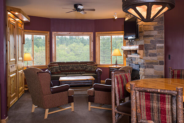 2 Bedroom Deluxe Condo Glacier Canyon Lodge