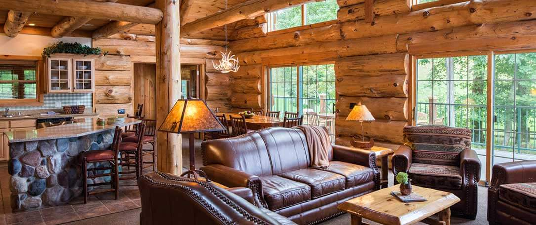 4 bedroom cabin wilderness resort wisconsin dells for Wisconsin log cabin
