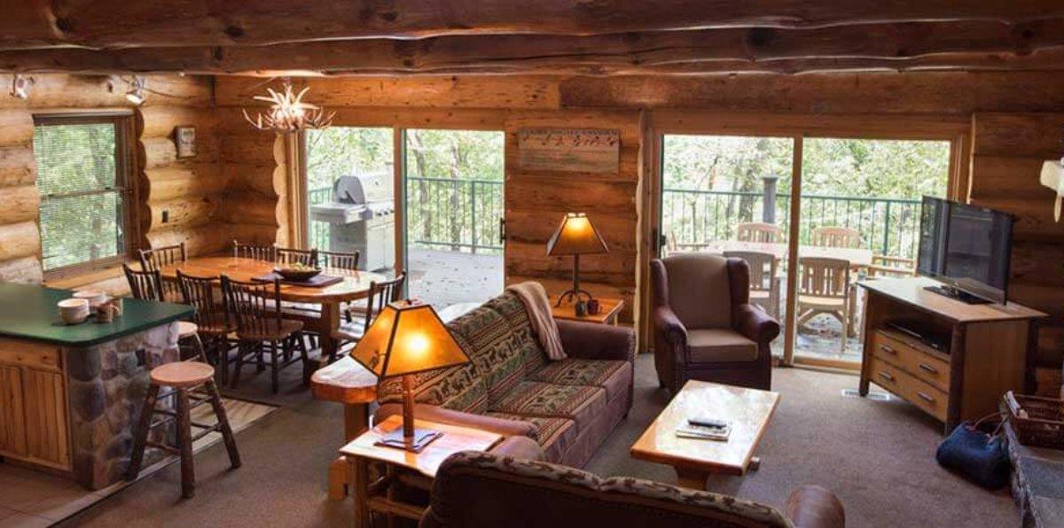 4 bedroom retreat cabin wilderness resort wisconsin dells