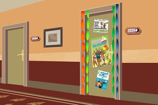 Birthday Door Decorations