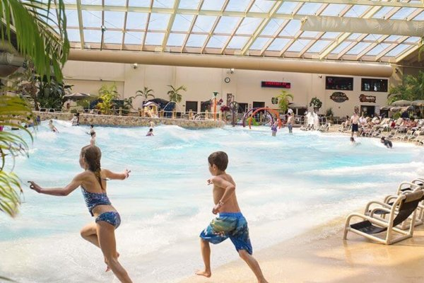 indoor water park Wisconsin Dells