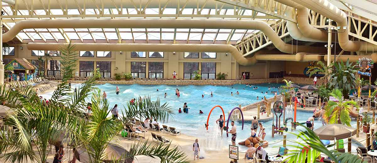 Wild Waterdome Indoor Water Park Wilderness Resort