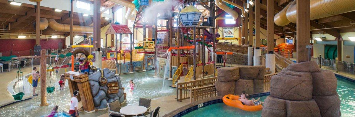 Indoor Waterparks - Wilderness Resort