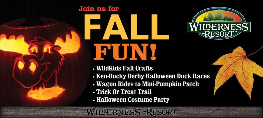 Wisconsin Dells Halloween 2020 HAVE A SPOOKTACULAR HALLOWEEN AT THE WILDERNESS RESORT
