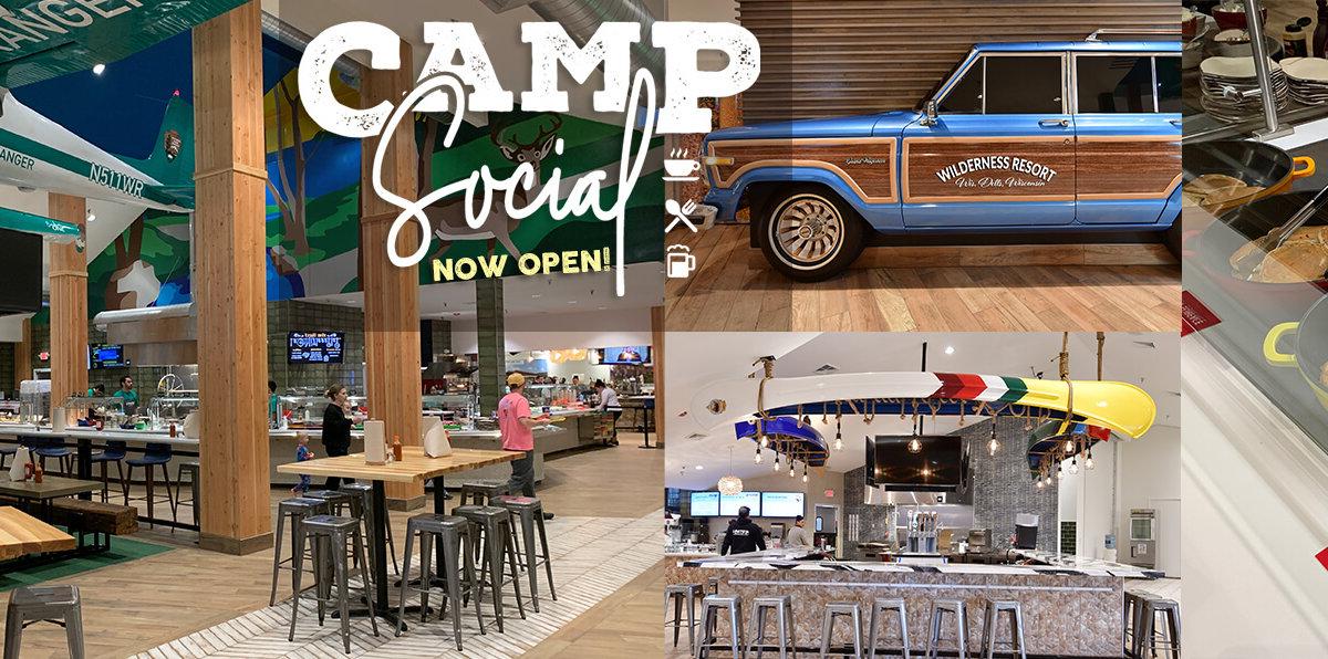 Camp Social now open