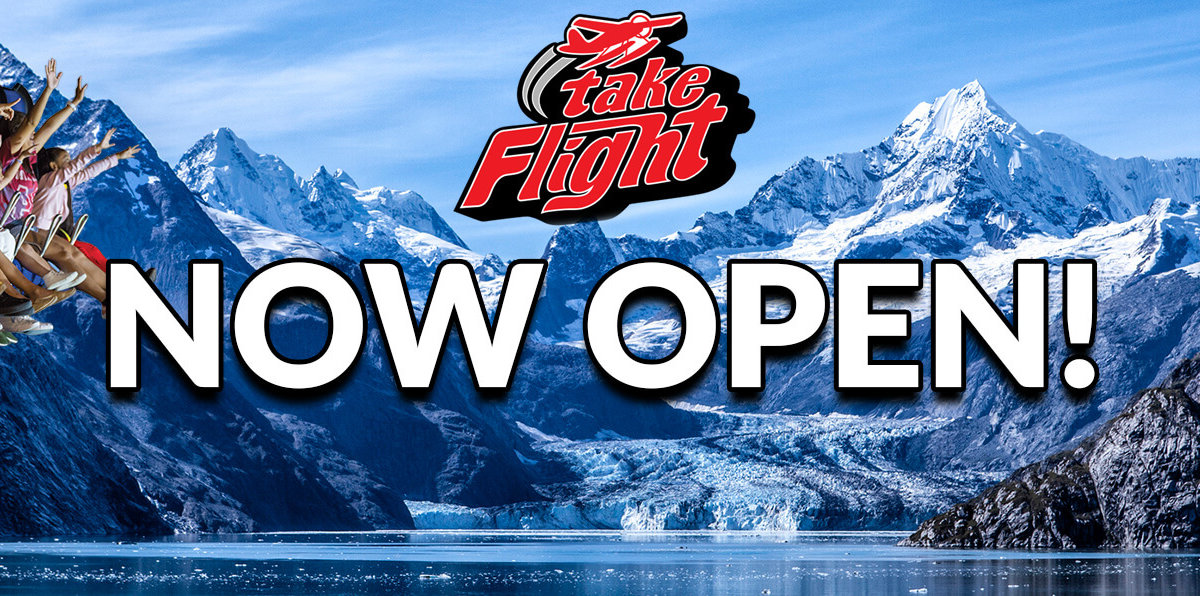 take flight at the wilderness - now open!