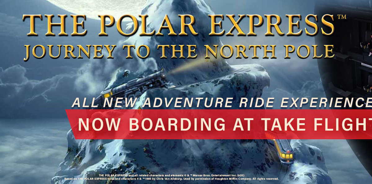 The polar express journey to the north pole - Now boarding at take flight